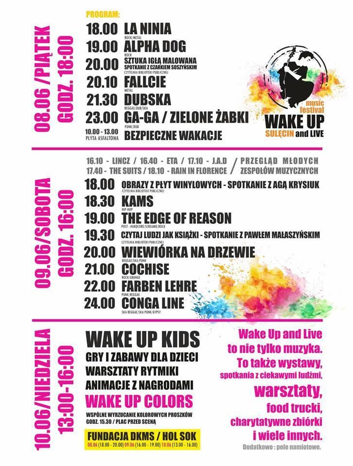 Wake Up & Live Festival 2018